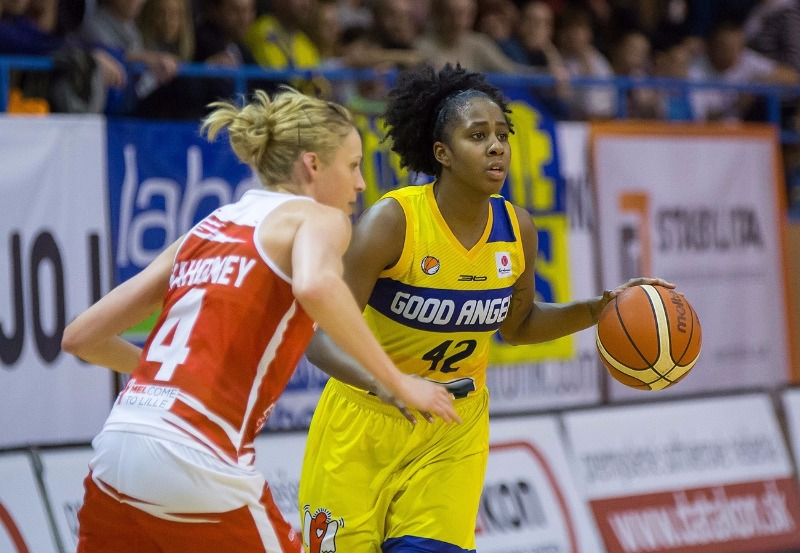 42. Shenise Johnson (Good Angels Kosice)